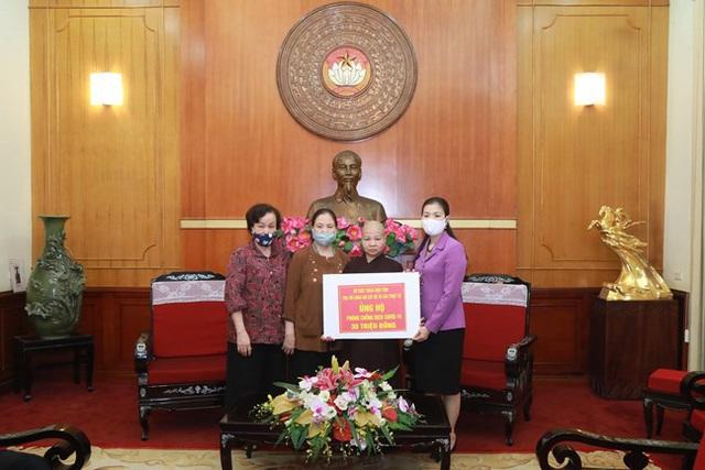 Hình ảnh MTTQ Việt Nam tiếp nhận ủng hộ của Ca sỹ Noo Phước Thịnh cùng các cơ quan, tổ chức, cá nhân với quyết tâm ngăn chặn, đẩy lùi dịch Covid-19. - Ảnh 2.