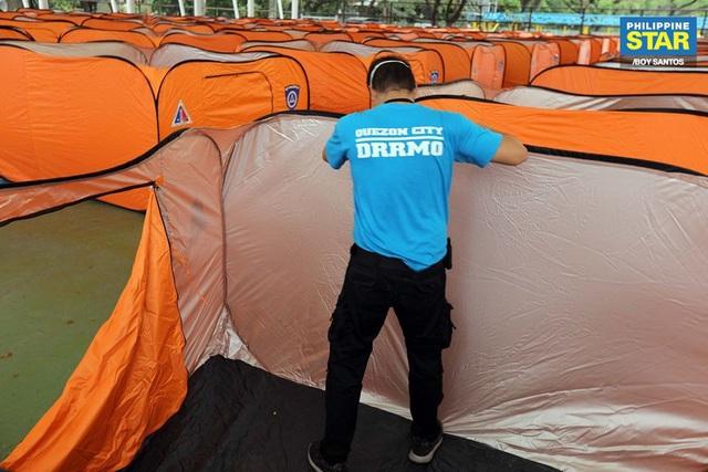 Philippines dựng lều cho người vô gia cư để phòng chống lây nhiễm Covid-19 - Ảnh 8.