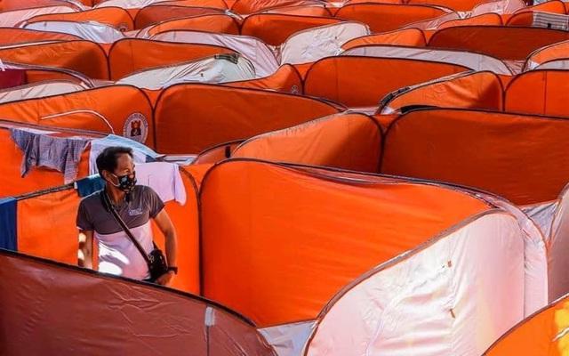Philippines dựng lều cho người vô gia cư để phòng chống lây nhiễm Covid-19 - Ảnh 2.