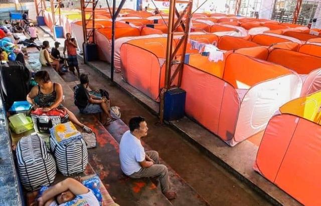 Philippines dựng lều cho người vô gia cư để phòng chống lây nhiễm Covid-19 - Ảnh 3.