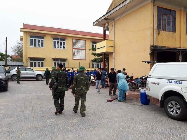 Một khu cách ly tập trung tại huyện Quảng Trạch, tỉnh Quảng Bình