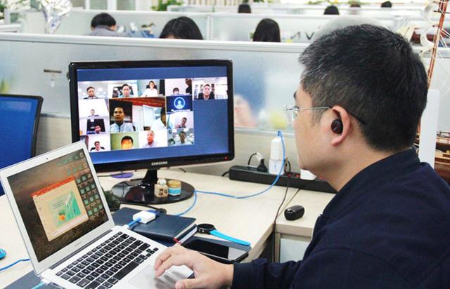 Bộ Thông tin & Truyền thông kêu gọi các doanh nghiệp công nghệ số tiên phong thực hiện làm việc trên môi trường số - Ảnh 1.