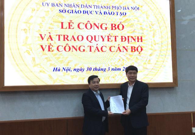 Sở Giáo dục và Đào tạo Hà Nội bổ nhiệm cán bộ quản lý - Ảnh 2.