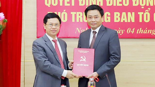 Nhân sự mới 2 tỉnh Hải Dương, Nghệ An - Ảnh 2.