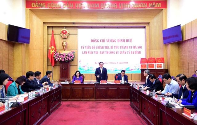 Hà Nội tạm hoãn đại hội đảng bộ cấp cơ sở để tập trung chống dịch COVID-19 - Ảnh 1.
