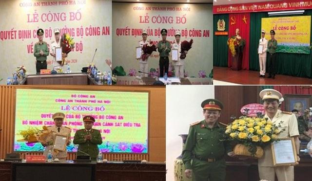 Công an Hà Nội bổ nhiệm hàng loạt nhân sự mới - Ảnh 1.