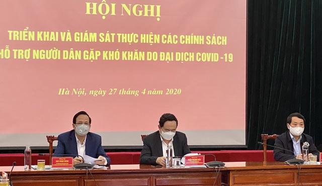 """Bộ trưởng Đào Ngọc Dung: Nếu """"đụng"""" đến gói hỗ trợ 62.000 tỷ đồng sẽ là nỗi nhục của các đồng chí cán bộ - Ảnh 1."""