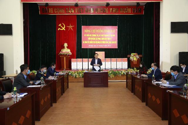Bí thư Thành ủy Vương Đình Huệ: Dịch bệnh không thay đổi các giá trị căn bản của Việt Nam và Hà Nội  - Ảnh 1.