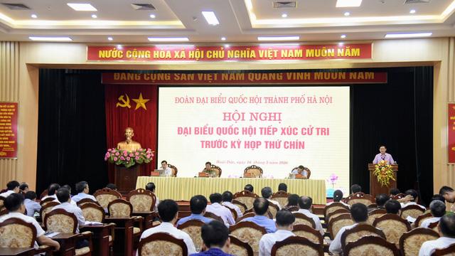 Bí thư Thành ủy Hà Nội: Không hy sinh lợi ích lâu dài vì mục tiêu kinh tế trước mắt - Ảnh 1.