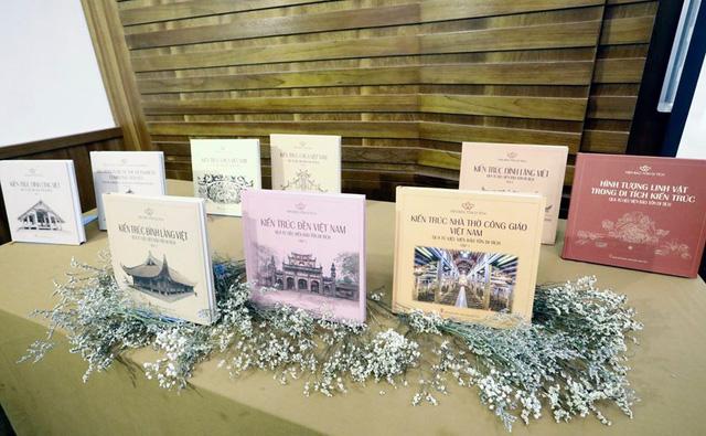 Ra mắt 3 cuốn sách về di tích kiến trúc Việt Nam - Ảnh 1.