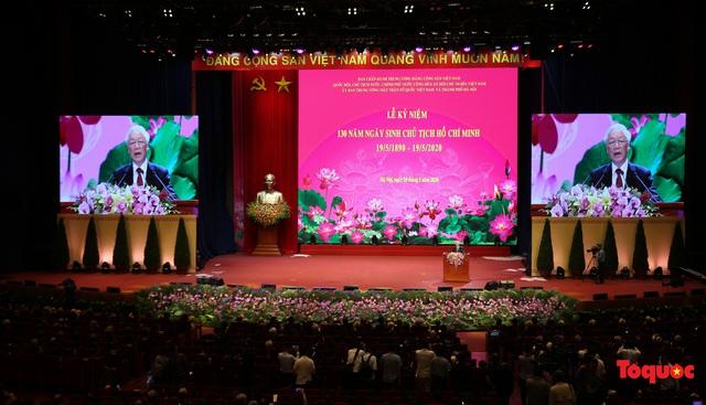 Long trọng kỷ niệm 130 năm Ngày sinh Chủ tịch Hồ Chí Minh: Nguyện kế tục trung thành và xuất sắc sự nghiệp vĩ đại của Người - Ảnh 4.