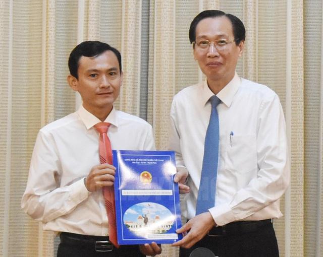 Nhân sự mới TP.HCM, Đà Nẵng - Ảnh 1.