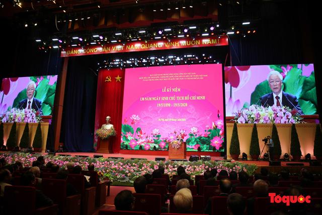 Trang trọng Lễ kỷ niệm 130 năm Ngày sinh Chủ tịch Hồ Chí Minh - Ảnh 6.