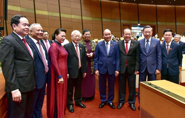 Hình ảnh bên lề phiên khai mạc Kỳ họp thứ 9 Quốc hội khóa XIV - Ảnh 3.