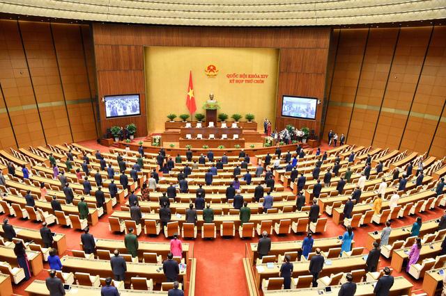 Hình ảnh bên lề sau phiên khai mạckỳ họp thứ 9 Quốc hội khóa XIV - Ảnh 1.