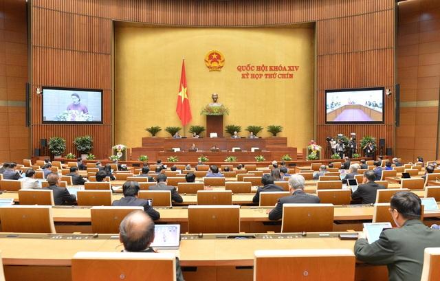 Hình ảnh bên lề phiên khai mạc Kỳ họp thứ 9 Quốc hội khóa XIV - Ảnh 2.