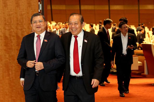 Hình ảnh bên lề phiên khai mạc Kỳ họp thứ 9 Quốc hội khóa XIV - Ảnh 4.