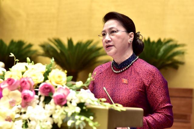 Chủ tịch Quốc hội: Xác định phương hướng, giải pháp hữu hiệu nhằm sớm phục hồi nền kinh tế sau đại dịch Covid-19 - Ảnh 1.
