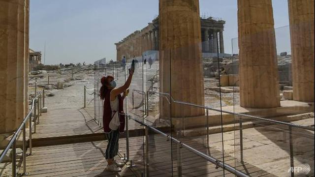 Hy Lạp ấn định thời điểm khởi động du lịch quốc tế - Ảnh 1.