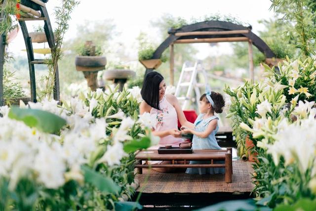 Hoa hậu Ngọc Hân bày tỏ mong muốn sinh con gái - Ảnh 1.