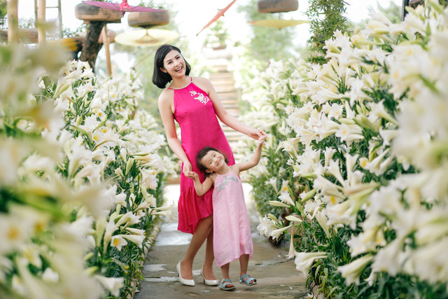 Hoa hậu Ngọc Hân bày tỏ mong muốn sinh con gái - Ảnh 8.