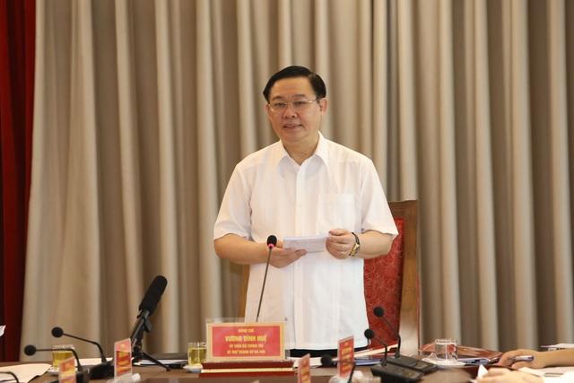 Bí thư Thành ủy Hà Nội: Kiện toàn để bộ phận giám sát hệ thống cấp nước sạch trực thuộc Sở Tài nguyên và Môi trường đi vào làm việc ngay - Ảnh 3.