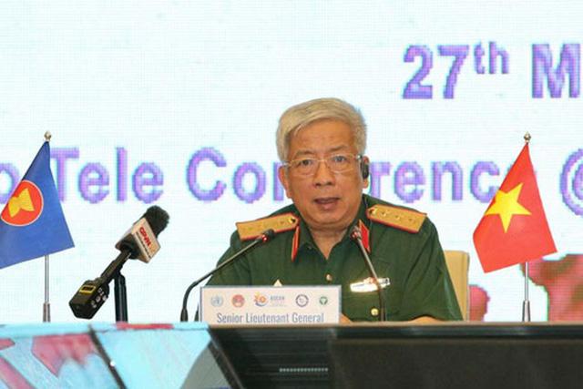 Quân y các nước ASEAN diễn tập trực tuyến cơ chế phòng, chống dịch Covid-19 - Ảnh 1.