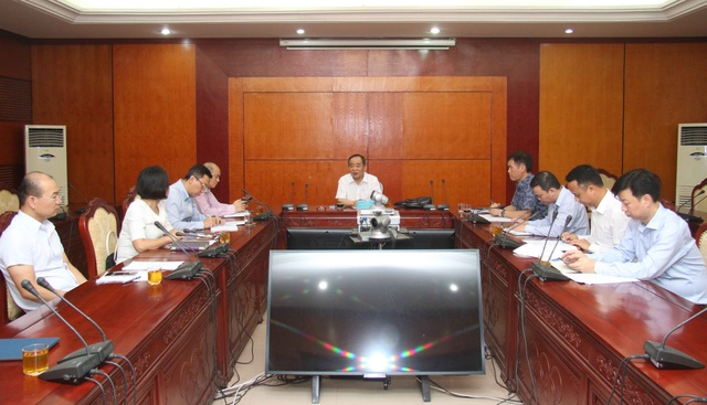 Thứ trưởng Bộ VHTTDL Lê Khánh Hải yêu cầu Tổng cục TDTT tập trung tối đa cho Olympic và SEA Games 31 - Ảnh 2.