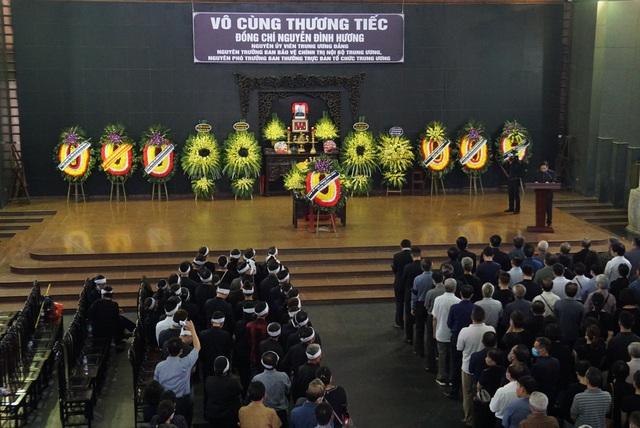 Cử hành trọng thể lễ tang đồng chí Nguyễn Đình Hương - Ảnh 1.