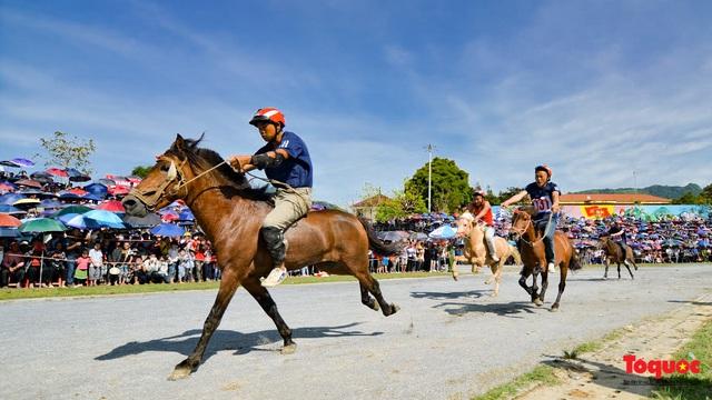 """Độc đáo giải đua ngựa thồ và những kị sĩ """"chân đất"""" ở Bắc Hà - Ảnh 19."""
