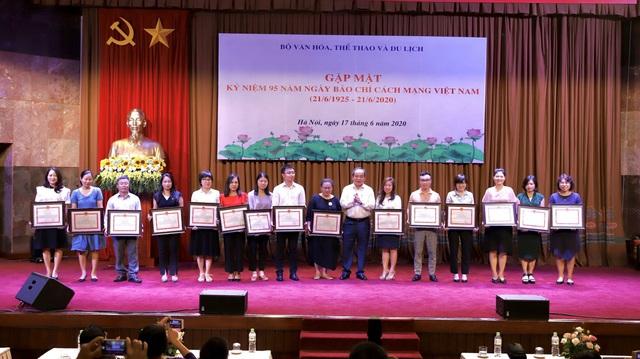 Thứ trưởng Lê Khánh Hải: Báo chí đồng hành cùng ngành xây dựng và phát triển văn hóa - Ảnh 3.
