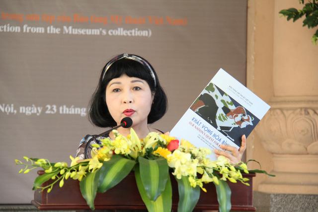 Bảo tàng Mỹ thuật Việt Nam giới thiệu 30 tranh cổ động trong giai đoạn từ 1958 đến 1986 - Ảnh 3.