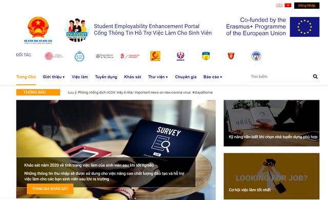 Thêm một kênh kết nối việc làm hữu ích cho sinh viên Việt Nam - Ảnh 1.