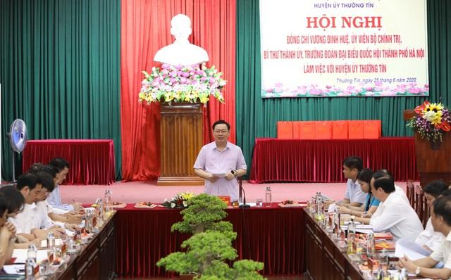 """Bí thư Hà Nội: Phát triển cụm công nghiệp, làng nghề, đó là làm tổ cho cả """"đại bàng"""" lẫn """"chim chích"""" - Ảnh 3."""