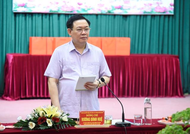 """Bí thư Hà Nội: Phát triển cụm công nghiệp, làng nghề, đó là làm tổ cho cả """"đại bàng"""" lẫn """"chim chích"""" - Ảnh 4."""