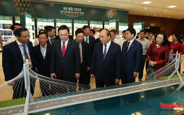 """Khai mạc Hội nghị """"Hà Nội 2020 - Hợp tác Đầu tư và Phát triển"""" - Ảnh 4."""