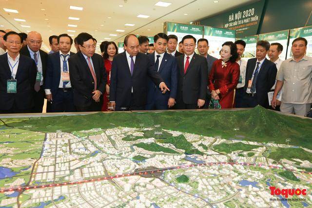 """Khai mạc Hội nghị """"Hà Nội 2020 - Hợp tác Đầu tư và Phát triển"""" - Ảnh 3."""