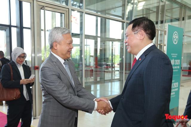 """Khai mạc Hội nghị """"Hà Nội 2020 - Hợp tác Đầu tư và Phát triển"""" - Ảnh 8."""