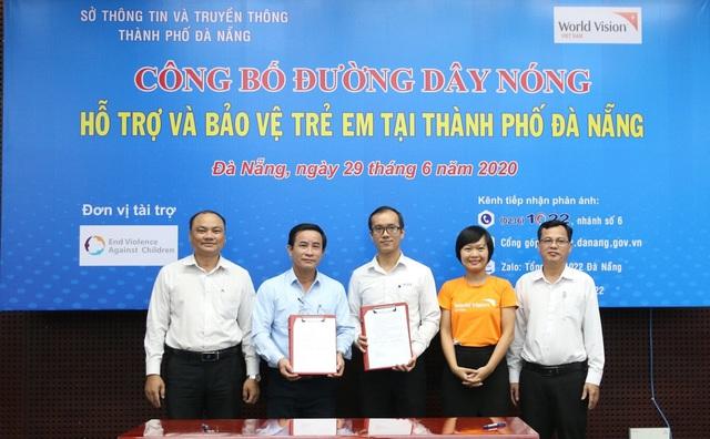 Công bố Đường dây nóng hỗ trợ bảo vệ trẻ em tại Đà Nẵng - Ảnh 1.