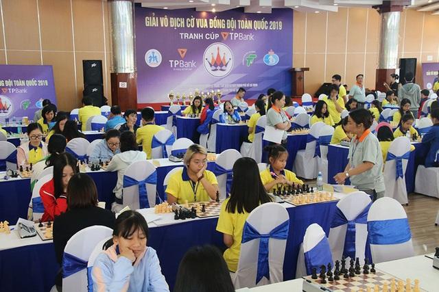 Gần 300 VĐV xuất sắc tranh tài tại Giải cờ vua đồng đội toàn quốc - Ảnh 1.