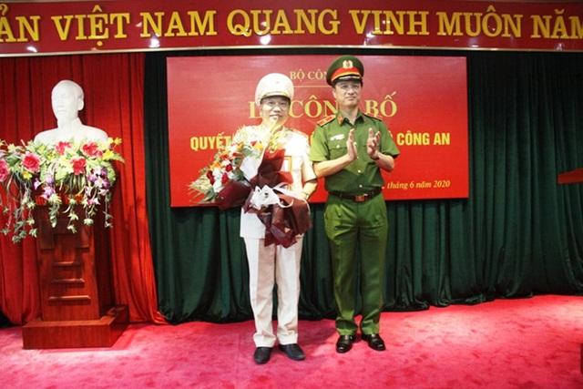 Thiếu tướng Tô Văn Huệ làm Cục trưởng của Bộ Công an - Ảnh 1.