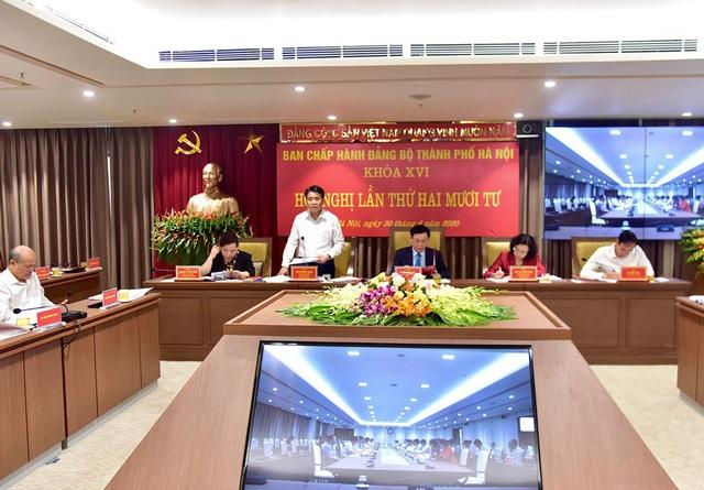 Đảng bộ Hà Nội tập trung thảo luận xem xét nhiều nội dung quan trọng - Ảnh 4.