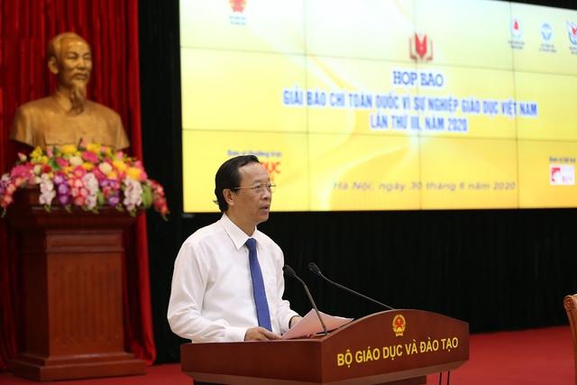 Giải báo chí về giáo dục cần phát hiện những điều chưa tốt, bất cập trong báo chí viết về giáo dục Việt Nam - Ảnh 1.