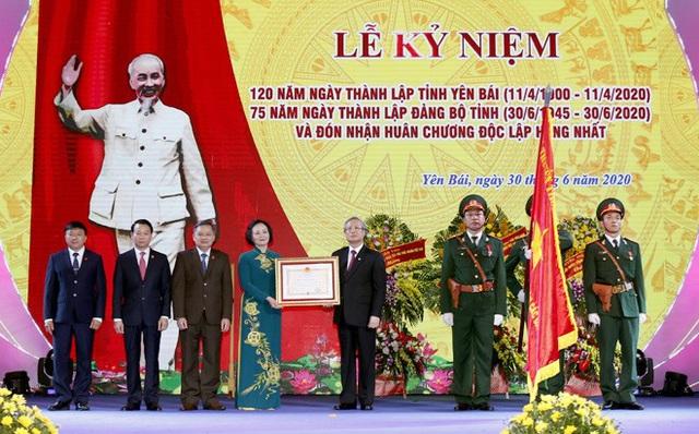 Yên Bái long trọng kỷ niệm 120 năm thành lập tỉnh, đón Huân chương Độc lập hạng Nhất - Ảnh 1.