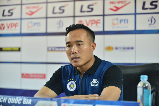 """Trợ lý HLV Hà Nội FC Nguyễn Công Tuấn: """"Đây không phải trận đấu dễ dàng cho Hà Nội FC"""" - Ảnh 1."""