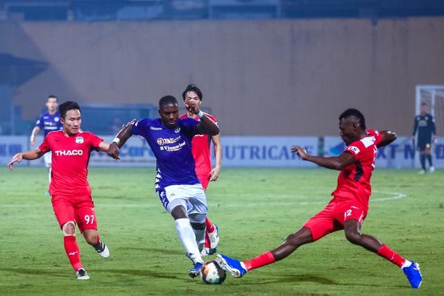 Chùm ảnh: Màn ra mắt ấn tượng của Rimario trong màu áo Hà Nội FC sau quãng thời gian dài chấn thương - Ảnh 4.