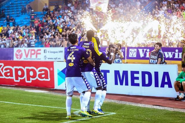 Chùm ảnh: Màn ra mắt ấn tượng của Rimario trong màu áo Hà Nội FC sau quãng thời gian dài chấn thương - Ảnh 7.