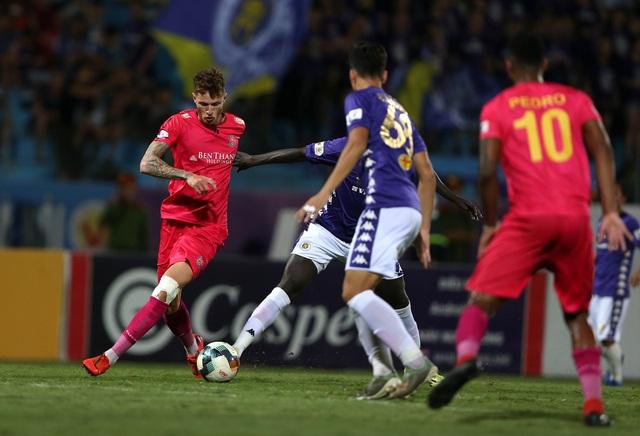 [Chùm ảnh] Thất bại đắng thứ hai của Hà Nội FC ngay trên sân nhà - Ảnh 6.