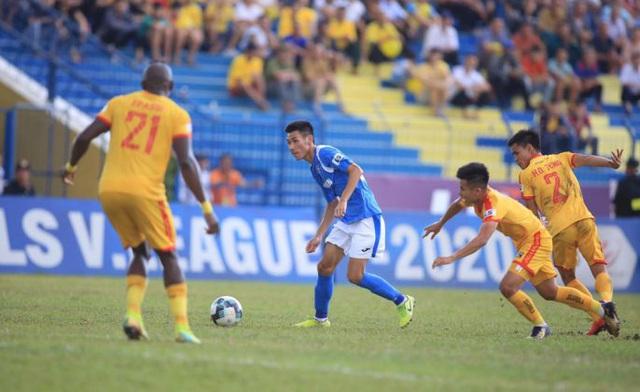Vòng 7 V-League 2020: Thanh Hóa thăng hoa, Sài Gòn nối dài mạch bất bại - Ảnh 2.