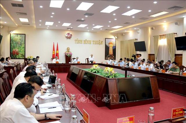 Thường trực Ban Bí thư Trần Quốc Vượng: Không đưa vào đại hội những người nói và làm không theo Nghị quyết của Đảng - Ảnh 2.
